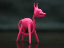 Tailhead in Pink Strong & Flexible Polished