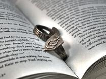 Slytherin Ring Size 4 in Stainless Steel