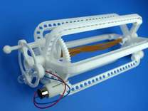 Rubber band dinamo parts in White Strong & Flexible