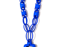 Rosary 1 in Blue Strong & Flexible Polished
