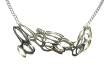 Fantasia Necklace in Polished Silver