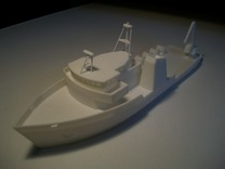 031A Liberty star 1/288 in White Strong & Flexible