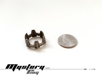 Mystery Ring (20.5 mm opening) in Stainless Steel