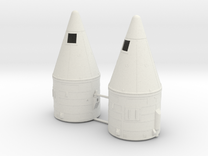 1/72 SRB Tops (No Motors) in White Strong & Flexible