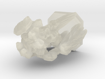 earth elemental miniature in Transparent Acrylic