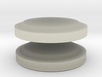 Lenses for gasmask in Transparent Acrylic