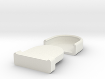 Rounded Box in White Strong & Flexible