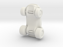 Toy Buggy in White Strong & Flexible