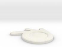 Blender Logo in White Strong & Flexible