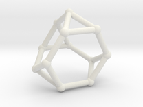 Truncated tetrahedron in White Strong & Flexible