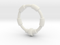 Ring in White Strong & Flexible