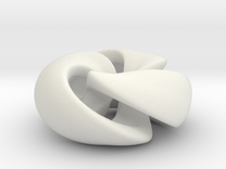 Twisted Knot in White Strong & Flexible