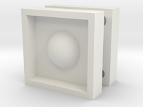 round mould box in White Strong & Flexible