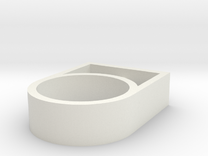 nele ring stainless in White Strong & Flexible