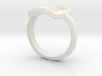 Neda''s Ring in White Strong & Flexible