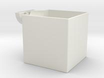 giant 1x2x3 corner (print 4) in White Strong & Flexible