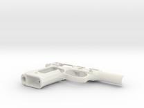Beretta92FS / M9 Frame in White Strong & Flexible