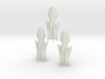 Illgari Corsair class Light Cruiser in White Strong & Flexible