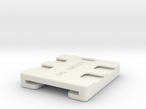 SD and Micro SD Key Fob in White Strong & Flexible