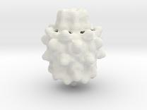 Mandelbulb in White Strong & Flexible