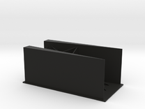 Angled Walls in Black Strong & Flexible