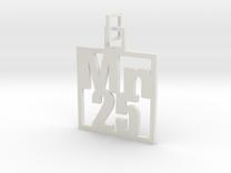 Elemental Pendant in White Strong & Flexible