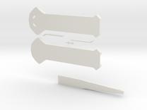 Hidden Blade in White Strong & Flexible