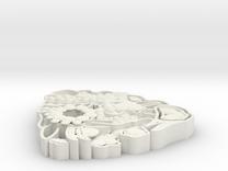 Centerpiece in White Strong & Flexible