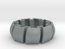 Bracelet in Polished Metallic Plastic