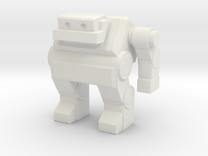 Robot 0032 Jaw Bot v3 02 in White Strong & Flexible