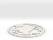 Tsuba Ver.2 - Open in White Strong & Flexible