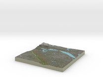 Terrafab generated model Fri Dec 13 2013 21:06:13  in Full Color Sandstone