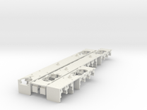 Plan U interieur N scale (1:160) in White Strong & Flexible