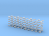 Kurzkupplung starr 2-fach Anschluß in Frosted Ultra Detail