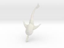 DORYASPIS 8 in White Strong & Flexible