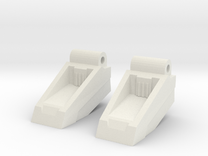 Classics seeker footplates in White Strong & Flexible