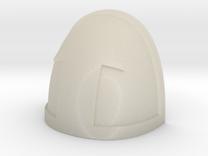 Reddit Upvote shoulder Pad in White Acrylic