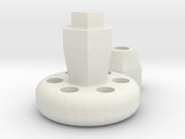 Gopro oversized Thumb Wheel V2 in White Strong & Flexible