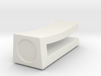 Chopstick Rest Minimalistic in White Strong & Flexible