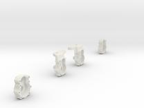 2 Portalachse/Portal Axle v2.03 in White Strong & Flexible
