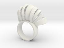 Nasu Ring Size 6 in White Strong & Flexible