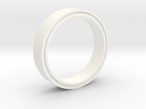 RingMold in White Strong & Flexible Polished