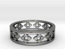 Endless Knight  Ring Size 6.5 in Premium Silver