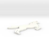 Shapeways Image Popper in White Strong & Flexible Polished