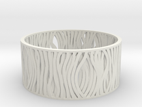 Filar bracelet 62mm in White Strong & Flexible