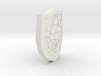 Hylian Shield in White Strong & Flexible