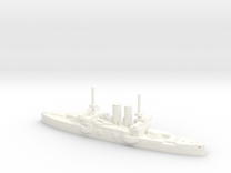 HMS Thunderchild in 1/1800  in White Strong & Flexible Polished