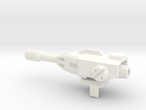 Megatron Fusion Cannon 1 in White Strong & Flexible Polished