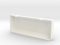 Toolbox Lid in White Strong & Flexible Polished