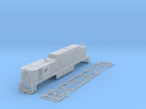 NE3301 N scale E33 loco - New Haven in Frosted Ultra Detail